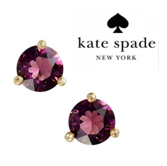 kate spade Jewelry - JUST IN🔶️ Kate Spade Rise & Shine Amethyst Studs